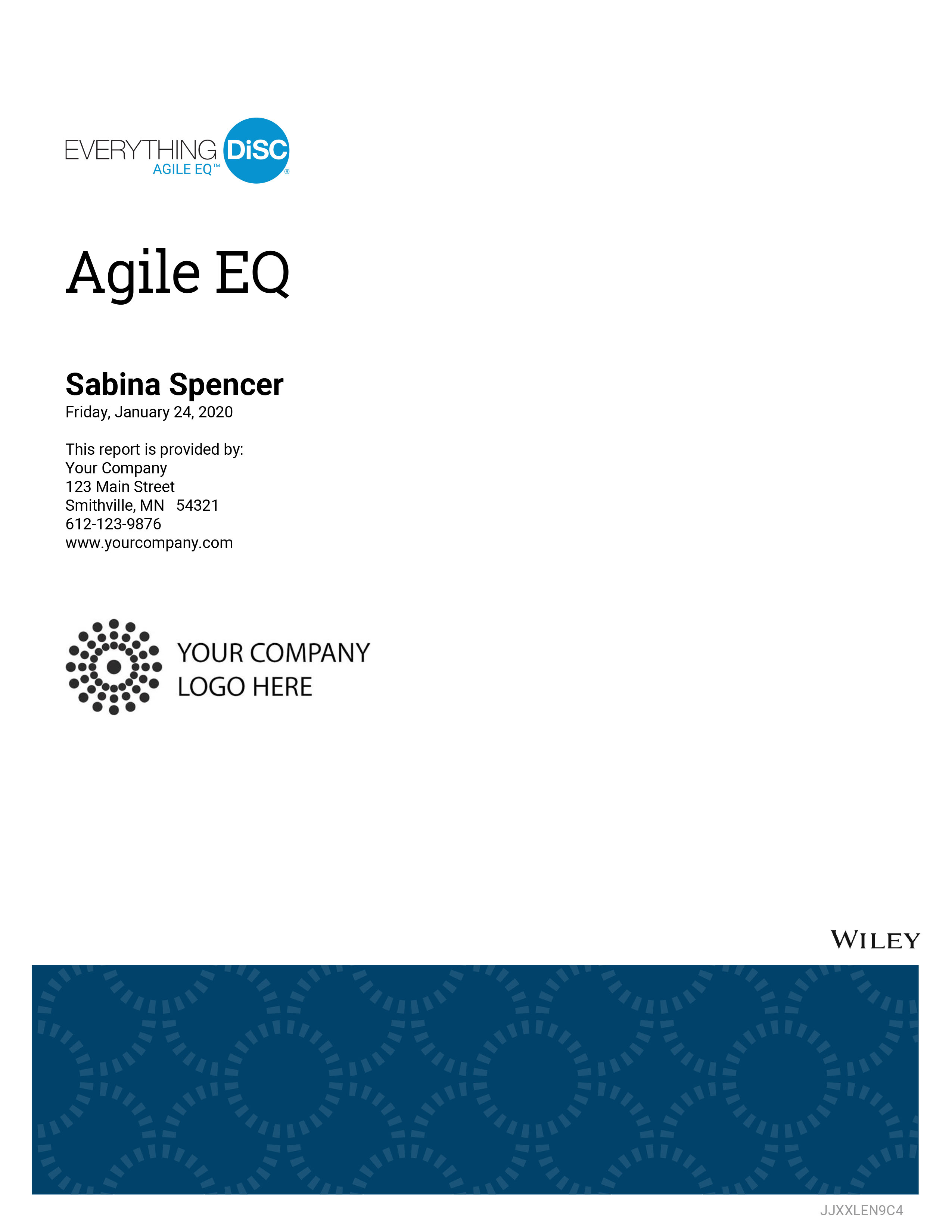 Everything DiSC Agile EQ Profile Cover