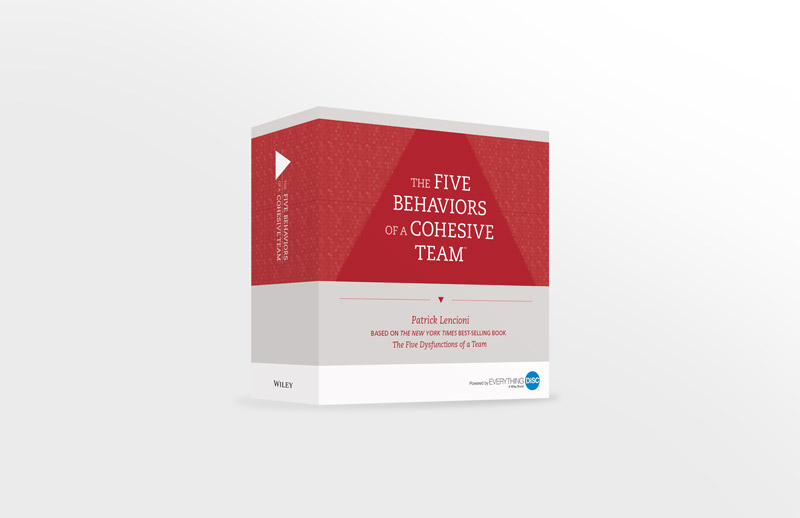 The Five Behaviors of a Cohesive Team Facilitation Kit